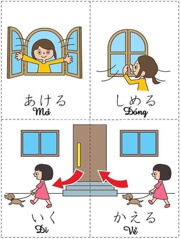 Bí kíp học từ vựng tiếng Nhật nhanh 3