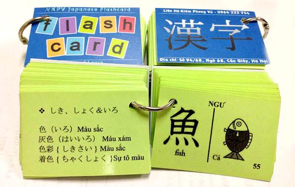 Bí kíp học từ vựng tiếng Nhật nhanh 4