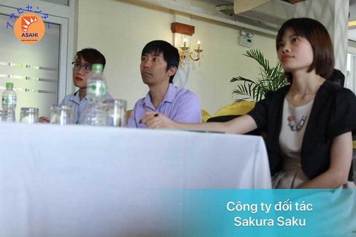 Học tiếng Nhật cho người mới bắt đầu tại Bình Dương - Công ty đối tác Sakura Saku