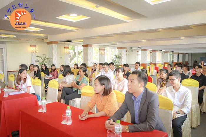 Học tiếng Nhật cho người mới bắt đầu tại Bình Dương - Hội thảo du học Nhật Bản tại ASAHI