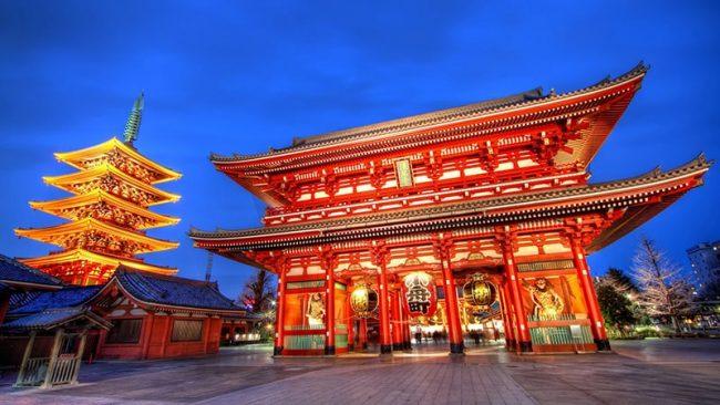 Tham quan ngôi chùa cổ nhất Tokyo - chùa Asakusa Kannon