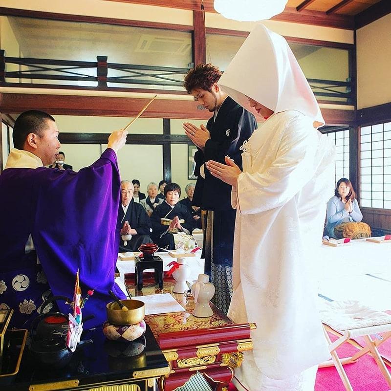 [ Từ vựng tiếng Nhật] Chủ đề đám cưới 2