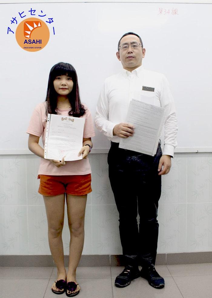 Lớp học tiếng Nhật tại Bình Dương