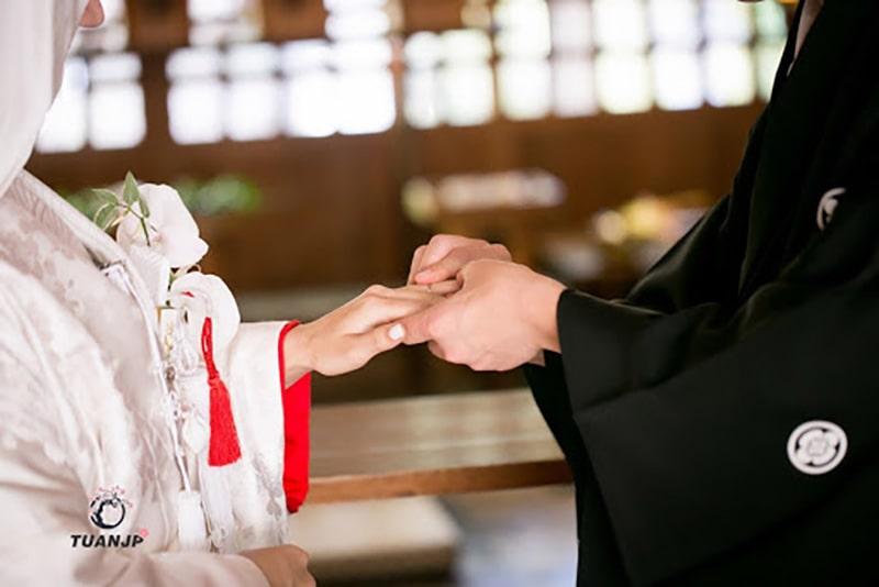 [ Từ vựng tiếng Nhật] Chủ đề đám cưới 4