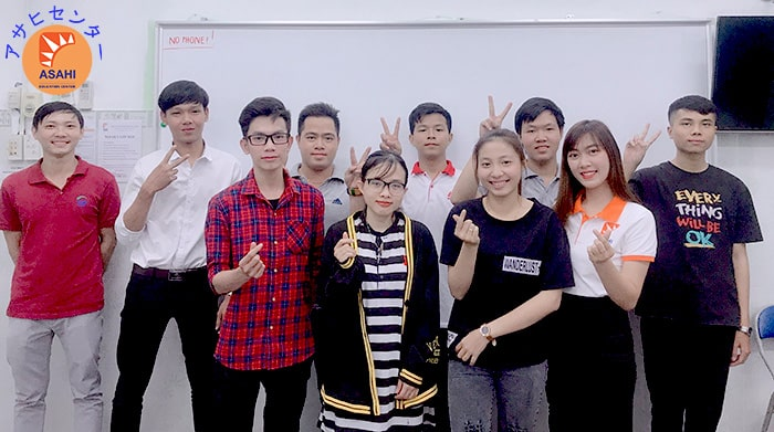 Lớp học cấp độ N5 tại Nhật ngữ ASAHI