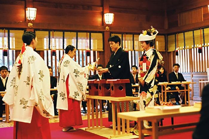 Lễ nghi cưới hỏi của người Nhật Bản