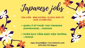 Tuyển dụng biên phiên dịch tiếng Nhật tại Bình Dương