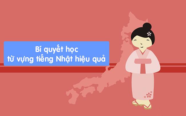 Bí kíp học từ vựng tiếng Nhật hiệu quả cho người mới bắt đầu