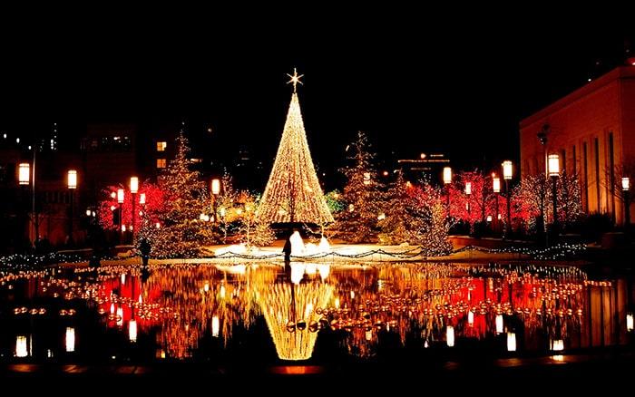 [Có thể bạn chưa biết] Lễ giáng sinh ở Nhật nhộn nhịp như thế nào