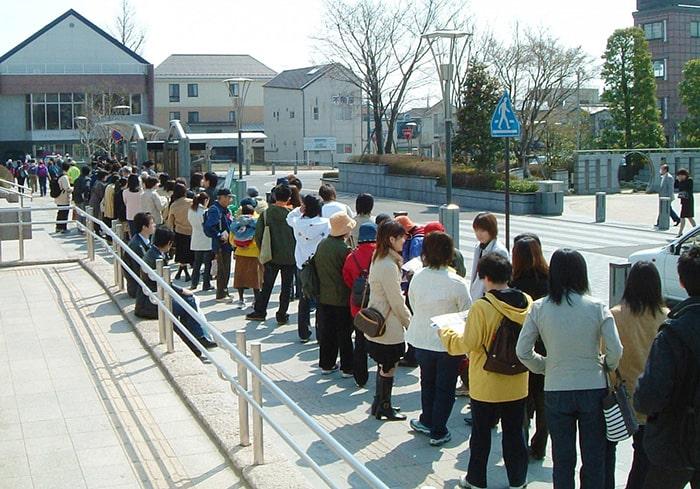 Nét đẹp văn hóa xếp hàng ở Nhật Bản