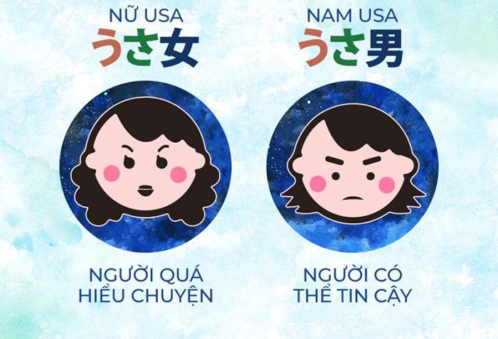 Phân loại tính cách theo phương pháp USAUSA của Nhật