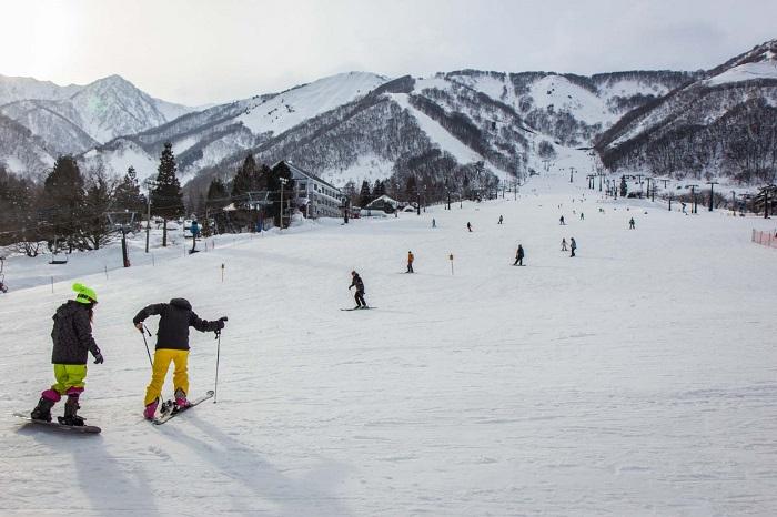 Điểm đến nổi tiếng vào mùa đông ở Nhật Bản
