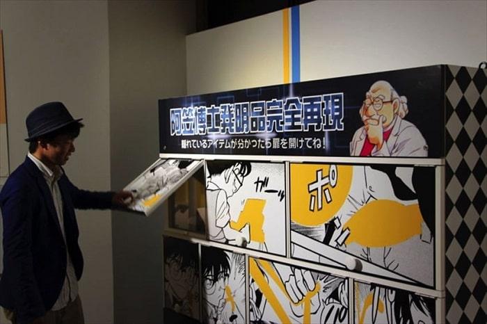 Nơi cư trú của Thám Tử Lừng Danh Conan Phố Hokuei tại Tottori Nhật Bản